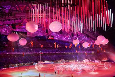 Sotchi Paralympics opening ceremony
