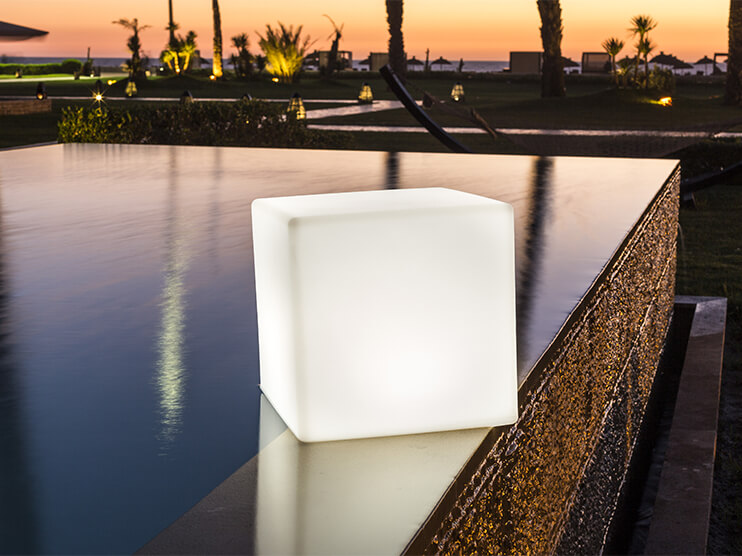 Cube Lamps